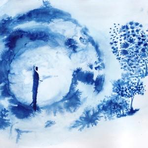 Hug Me Blue © Karine Zibaut